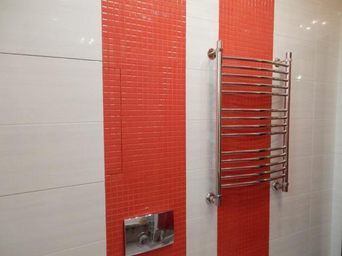 замена полотенцесушителя в ванной