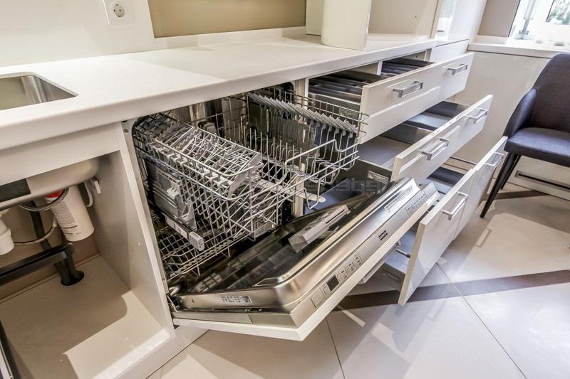 установить посудомоечную машину под столешницу