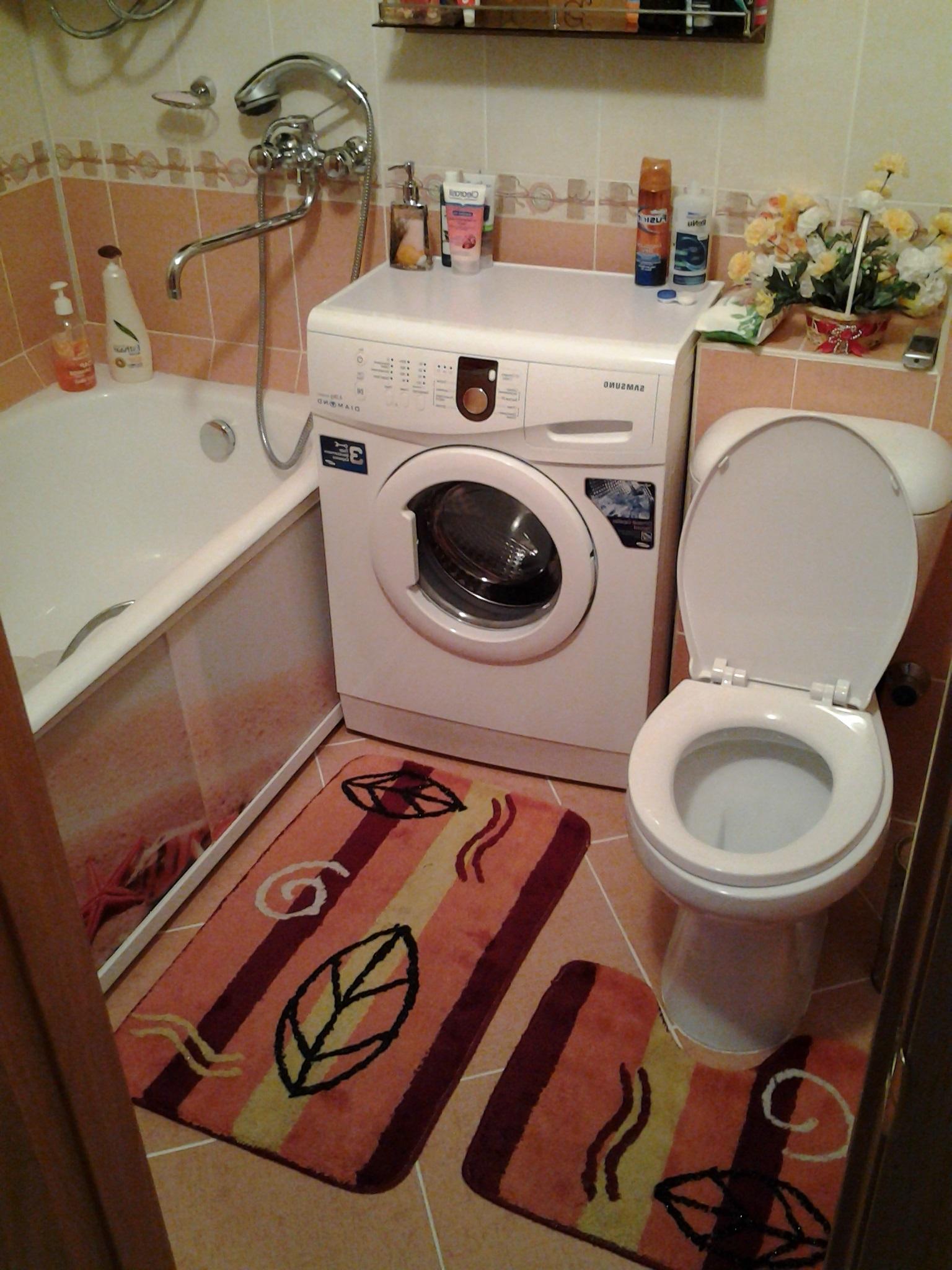установка слива стиральной машины